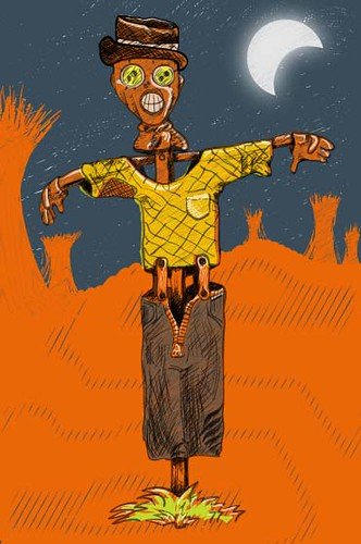 Scarecrow (vector version)
