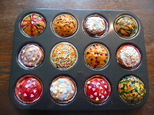 Muffin-Großproduktion