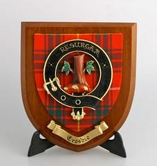Crosbie Clan Plaque