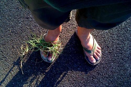 Grass thong