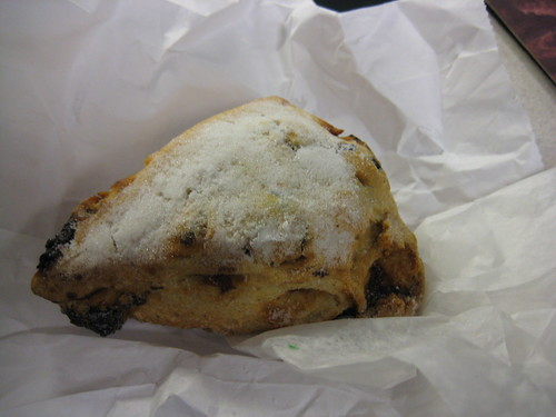 door county cherry scone from C. Adams bakery