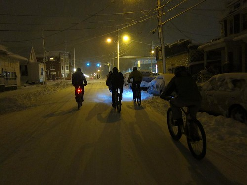 Snow biking 2011