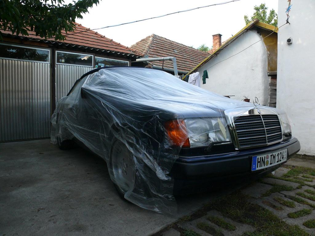 W124 cabrio verdeck