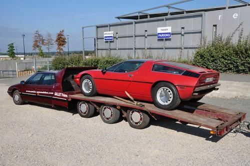 Maserati transport...