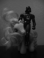Follow Your Dreams! (AngstionFigures) Tags: darth vader mylittlepony
