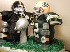 Super Bowl Diaper Cake 17 (diaper cakes) Tags: baby cakes sports sport cake children mom shower fan football pittsburgh child crafts pregnant diaper packers moms gifts gift presents bow newborn greenbay present ribbon superbowl centerpiece diapers rodgers showers tulle steelers babyshower shrinkwrap pampers centerpieces huggies sportsfan luvs diapercake diapercakes polamalu swaddlers
