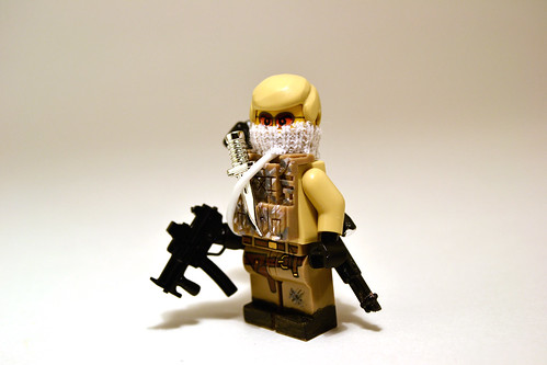 Custom minifig Private Military Contractor