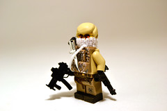 Private Military Contractor (. soop) Tags: scarf private mod paint lego mr fig military knife chrome hazel ama tiny ba tt vest custom contractor m14 pmc minifigure tactical soop m21 brickarms