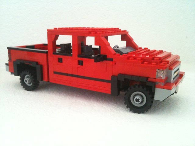 red ford chevrolet car truck gm lego 4x4 pickup f150 2006 chevy chrome dodge ram ck silverado ralph towing z71 savelsberg