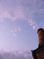 Gushing of heavenly champagne (Chris Coeur) Tags: chimney sky clouds ciel cielo nuages nube chemine chimenea coeurardent