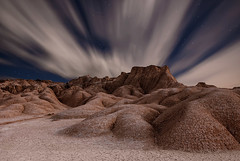 Bardenas (martin zalba) Tags: night stars landscape star noche paisaje estrellas estrella navarra bardenas