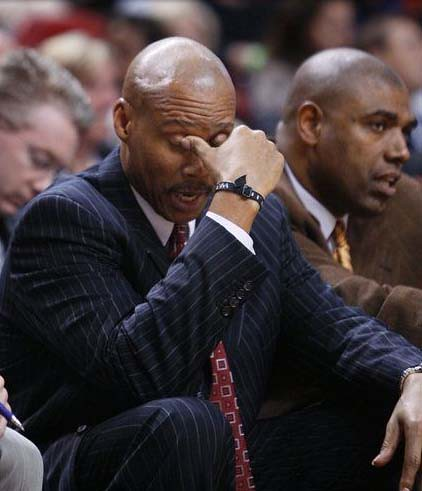 byron scott facepalm