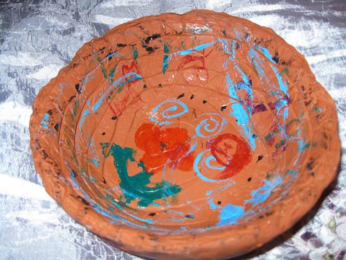 Clay Pot by Zippy (age 10)