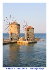 Windmills of Chios (CTPPIX.com) Tags: old trip travel sea summer vacation people mer reflection building beach architecture kids canon children island greek eos coast view urlaub aegean hellas windmills greece journey 7d gr ctp swimsuit mills deniz 2010 chios griekenland milis griek hios hellenic greekisland bikinigirl xios sakiz grek yeldegirmeni chiostown bikiniwoman khios christpehlivan ctppix sakizadasi xioy imiloi