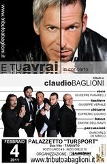 E tu... Avrai (Claudio Baglioni Tribute Band) - Locandina