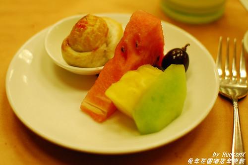 元寶酥餅+水果