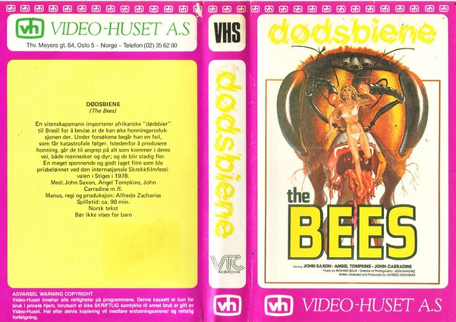 The Bees (VHS Box Art)