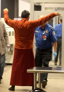 The Monk and the TSA Officer