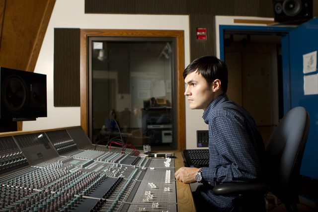 Chris at Studio Y