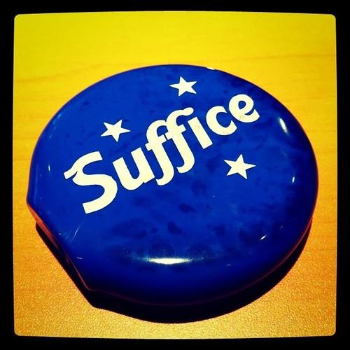 Suffice