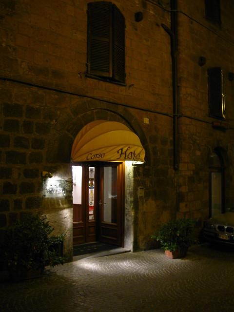オルヴィエートのホテルのフリー写真素材