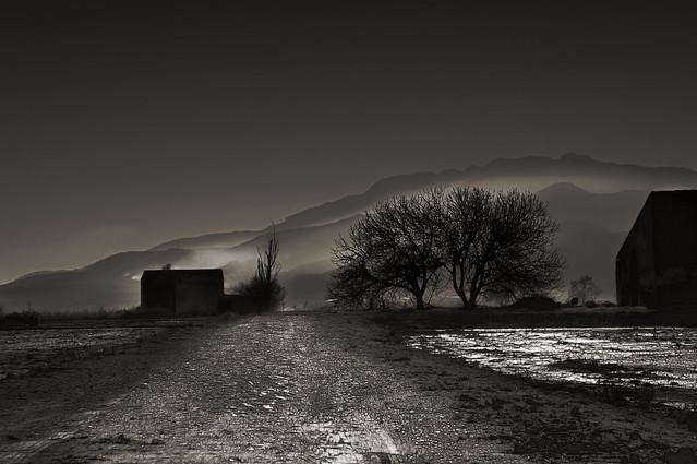 Es fa de nit al delta de l'Ebre