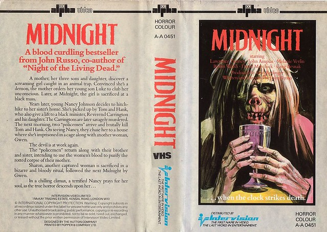 MIDNIGHT (VHS Box Art)