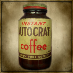 Autocrat (Mary Vican) Tags: vintage bottle flavor antique newengland rhodeisland tradition pure fleamarket autocrat coffeemilk flavoring statedrink