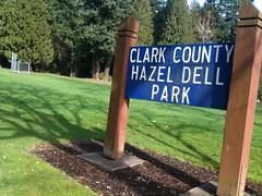 Hazel Dell Community Park in Vancouver WA