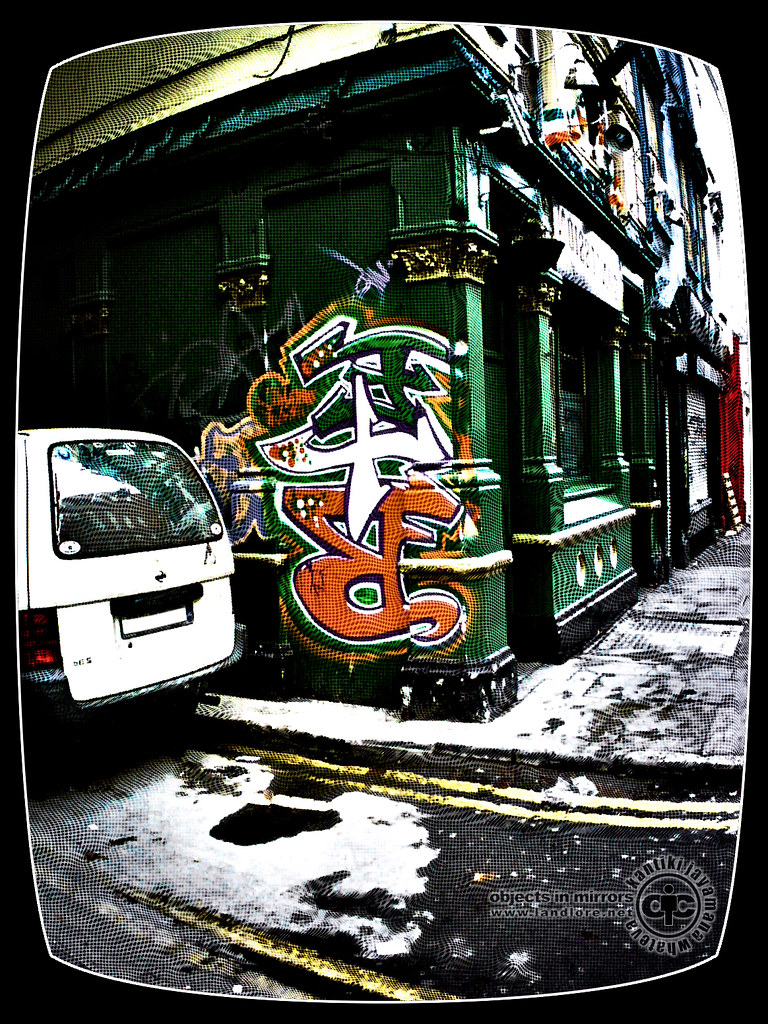 Irish Graffiti in Dublin