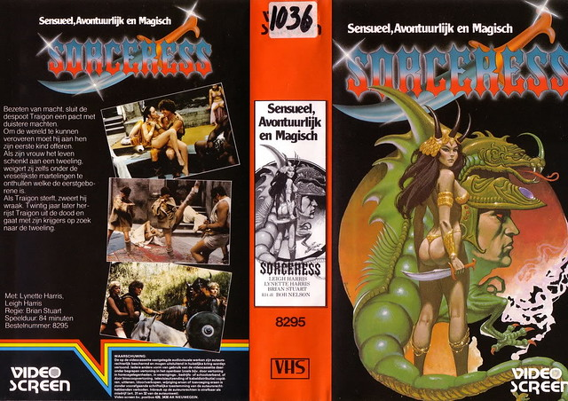 Sorceress (VHS Box Art)
