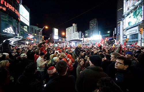 Celebrating Canadian Hockey Gold