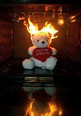 teddy on fire (Eugene.S.) Tags: fire teddy sweet ne dreams taip ne6 ne4 ne5 ne2 ne7 taip2 taip5 taip7 taip10 taip3 taip4 taip6 taip8 taip9 fotofiltroauksas ne3x2