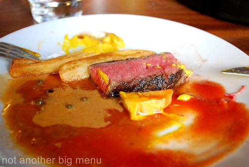 Hawksmoor, Spitalfields - Steak on plate