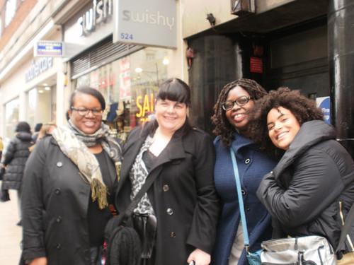 Deena, Val, Gaelle-Vanessa and Daphne