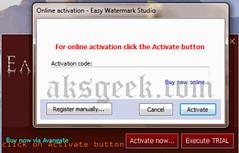 easy watermark studio-ol activate