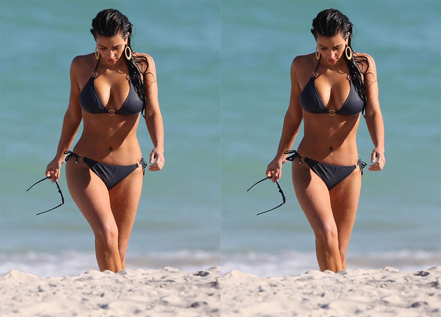 Kim Kardashian Photoshop Retouch by Body Retouch