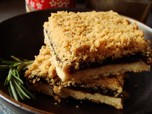 Rosemary Apricot Squares