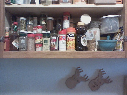 My spice cabinet