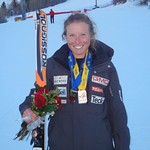 Sarah Freeman - all smiles and good times at Aspen Nor-Ams 2011