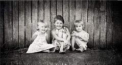 50 x 100 cm canvas (phozographer) Tags: girls portrait blackandwhite texture j pavement pano olympus panoramic explore dresses e woodenfence z e30 maitland zd explored 35100mm zoeambler phozographer