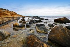Solitude (Fotomondeo) Tags: las sea sky espaa beach de mar spain cabo nikon day cloudy playa alicante cielo huertas d3000 gettyiberiasummer