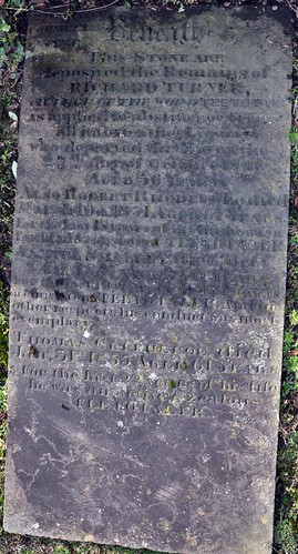 Gravestone Of Richard 'Dicky' Turner