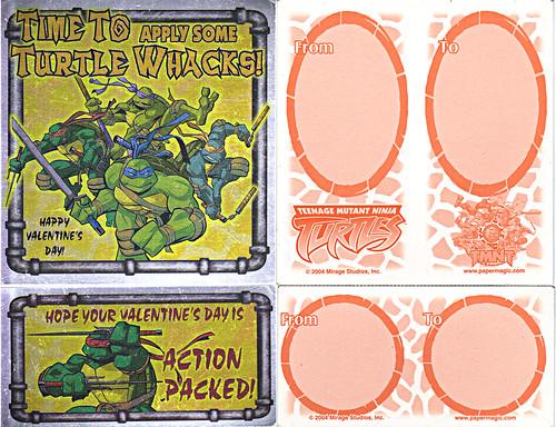 """PAPER MAGIC GROUP :: """"Teenage Mutant Ninja Turtles"""" - Valentines ii (( 2004 ))"""