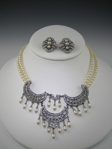 Art Deco Bridal Jewelry at Bridal Styles Gorgeous crystal and double strand