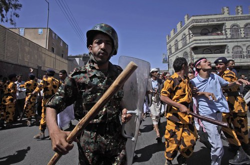 Thousands take to the streets in Yemen as the people demand the removal of the United States supported government. A day of fury has resulted in many injuries throughout the areas impacted by the demonstrations. by Pan-African News Wire File Photos