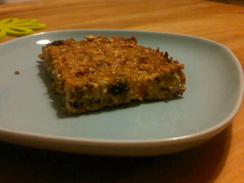 Coconutty protein bars 2