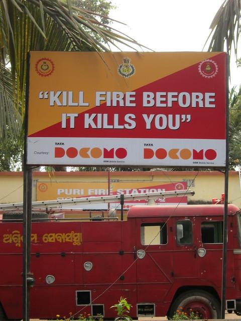 Murder is okay if it's fire
