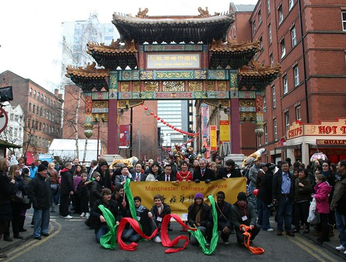 Launching the Manchester Chinese Archive, Chinese New Year, Chinatown, 2010