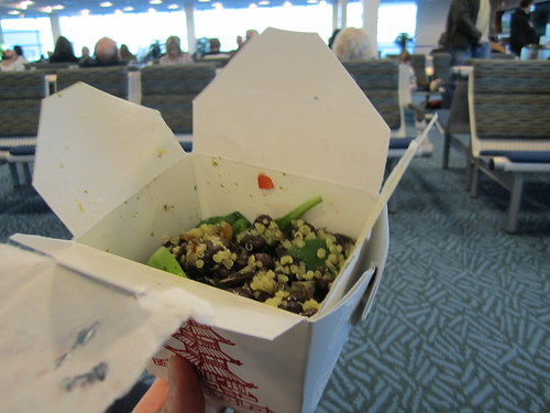 Leftovers for Breakfast in Vancouver Airport
